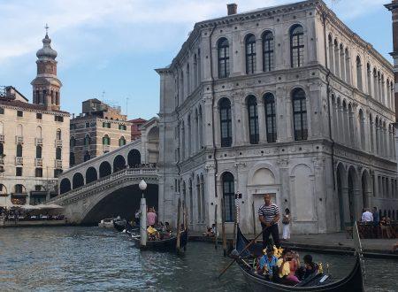 Il calice in valigia, Venezia e un calazio nell'occhio.